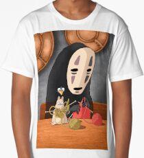Spirited Away - Boh and No Face Knitting Long T-Shirt