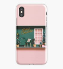 Dollhouse with Christmas decoration iPhone Case/Skin
