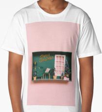 Dollhouse with Christmas decoration Long T-Shirt
