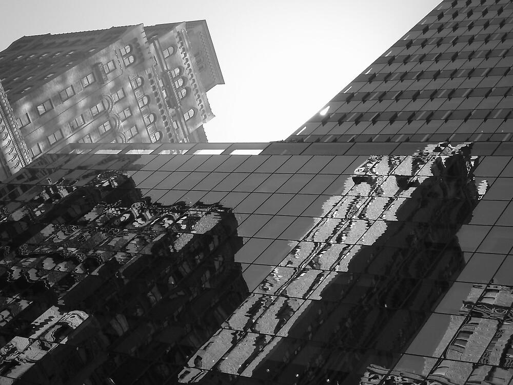 Manhattan Scraperscape by liqwidrok