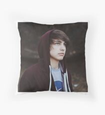 Colby Brock Throw Pillow
