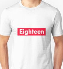 eighn Years old funny 18th birthday  Unisex T-Shirt