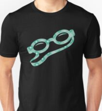 Christmas Pattern Swimming Goggles Unisex T-Shirt