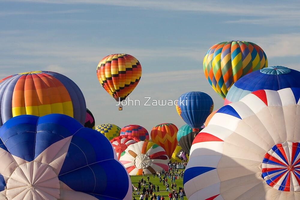 Hot Air Balloon #2592 by John Zawacki