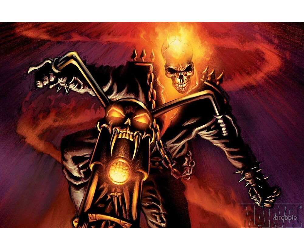 Ghost Rider by brobbie