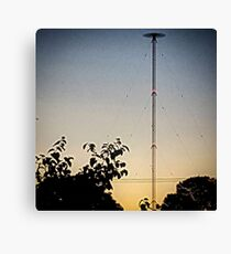 ABC Radio Tower Hamersley Canvas Print