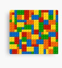 Colourful Building Blocks Canvas Print