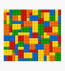 Colourful Building Blocks Photographic Print