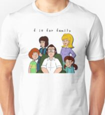 for family - nursery, and my sweeter sister watched me Unisex T-Shirt
