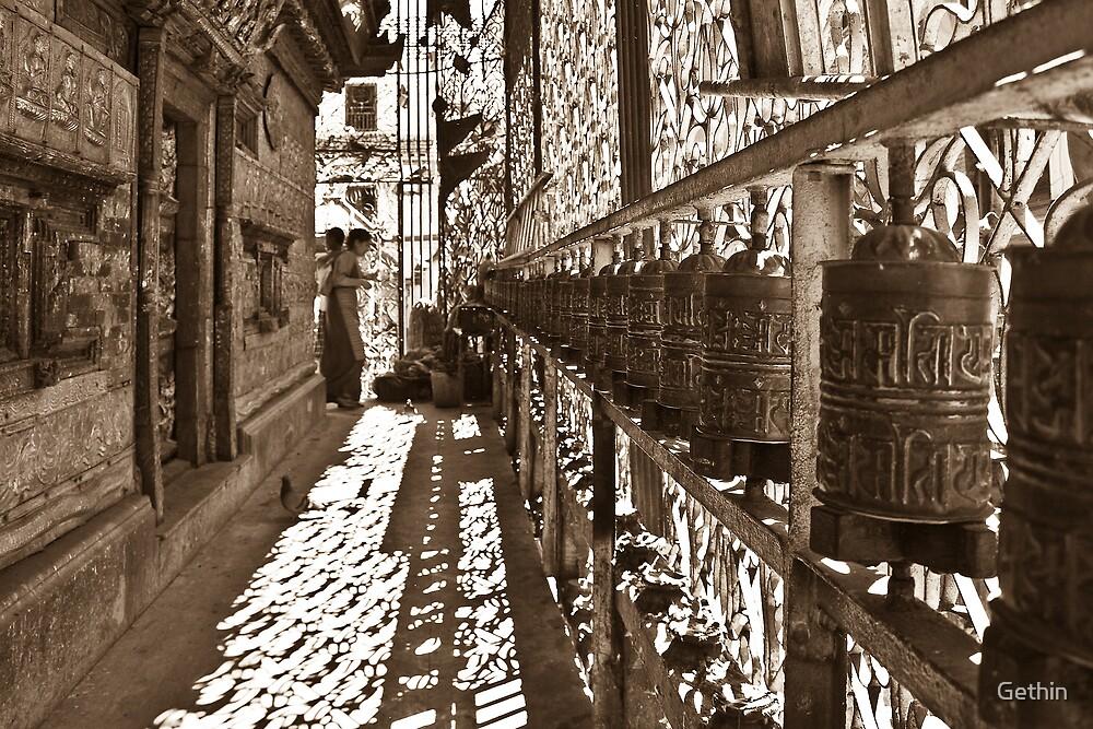 Prayer Wheels by Gethin