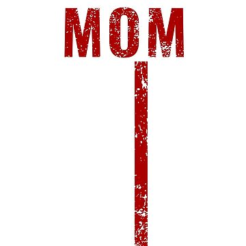 Proud Mom Thin Red Line Firefighter Shirt by Dmurr