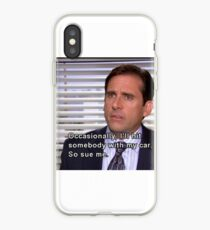 The Office Quote- Michaels Flaws iPhone Case