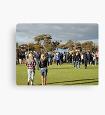 Victorious in Goomalling Canvas Print