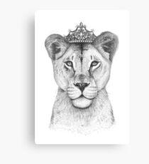 Die Königin Leinwanddruck