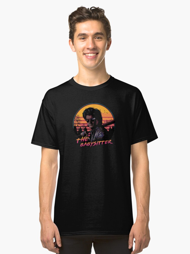 THE BABYSITTER Classic T-Shirt Front