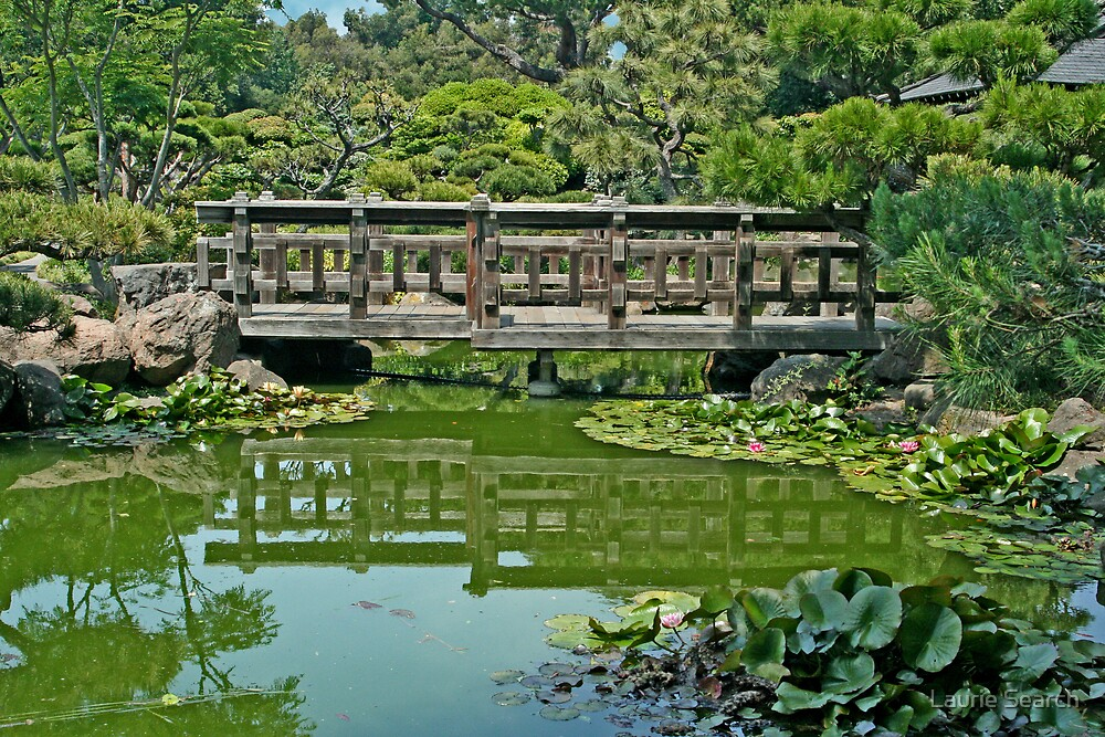 Japanese Gardens by Laurie Search