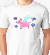 Pig with wings T-Shirt