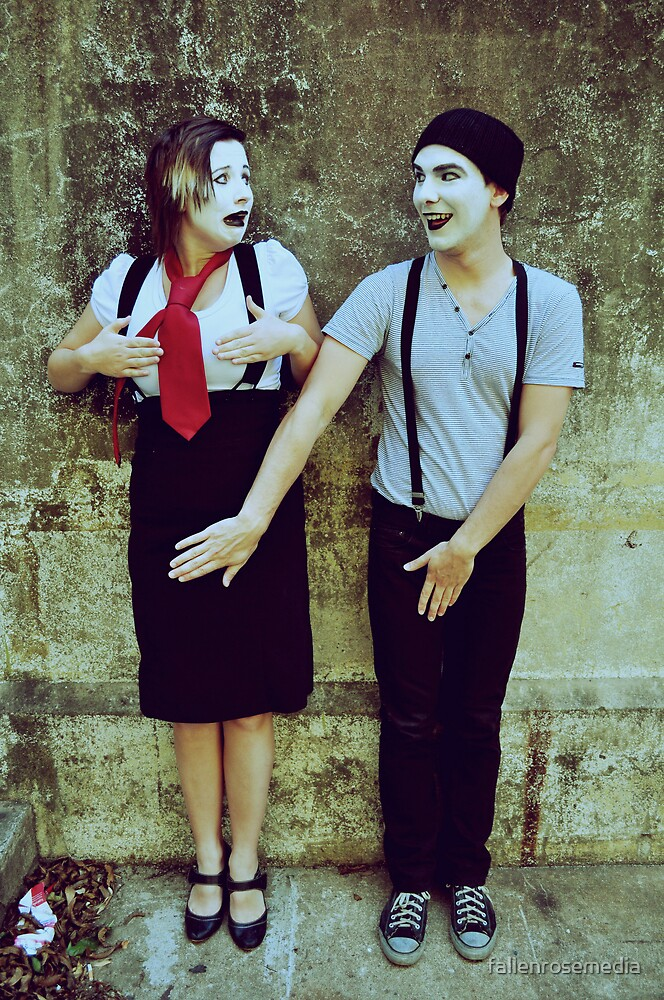 Private Mime Parts by fallenrosemedia