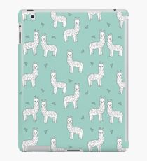 Alpaca - Mint by Andrea Lauren iPad Case/Skin