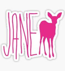 Life is Strange Jane Doe  Sticker
