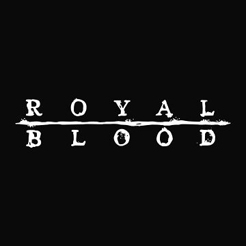 Royal Blood Logo by vlickers