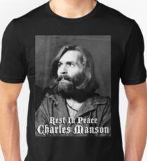 Charles Manson (Tshirt, Hoodie, Sticker, Merch etc.) Dead, Passed Away T-Shirt