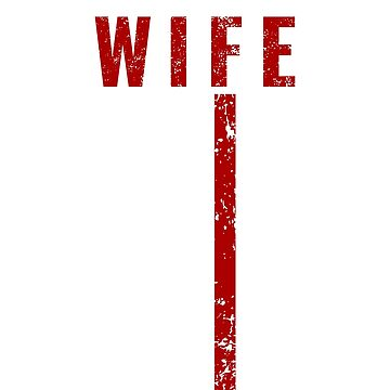 Proud Wife Thin Red Line Firefighter Shirt by Dmurr