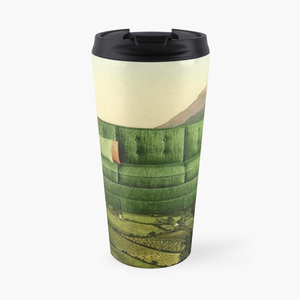 Green Couch Travel Mug