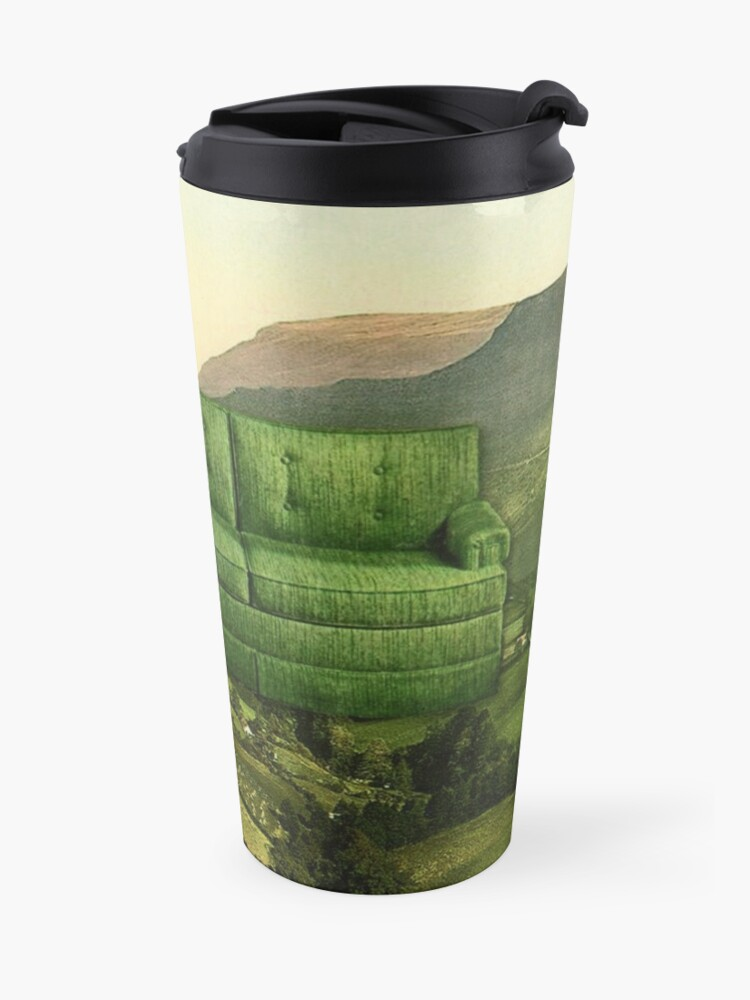 Alternate view of Green Couch Travel Mug