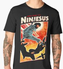 Hail Ninjesus! Men's Premium T-Shirt