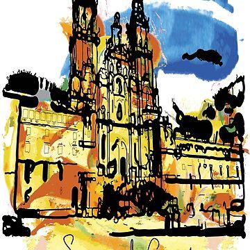 Santiago de Compostela by cheeckymonkey