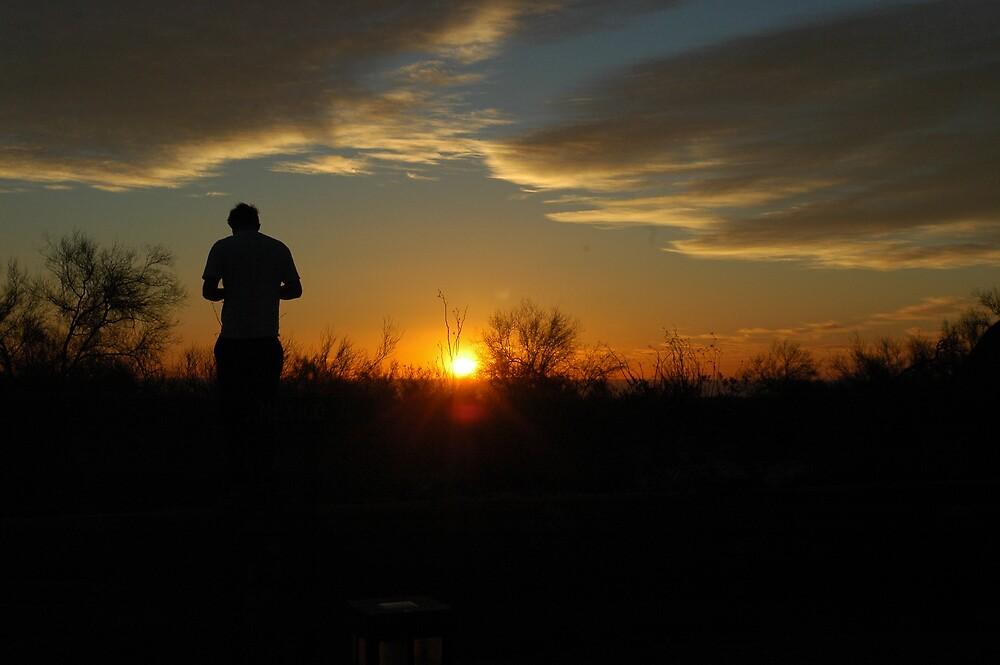 San Felipe Sunrise by Lisa Ouillette