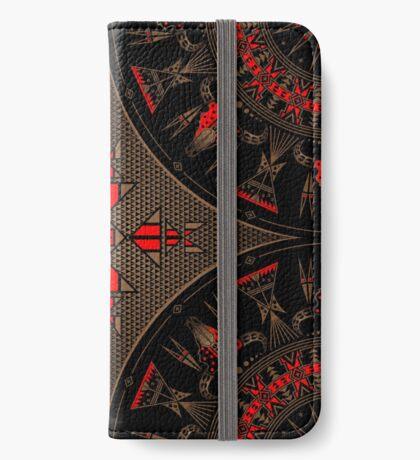 Buffalo Gathering iPhone Wallet