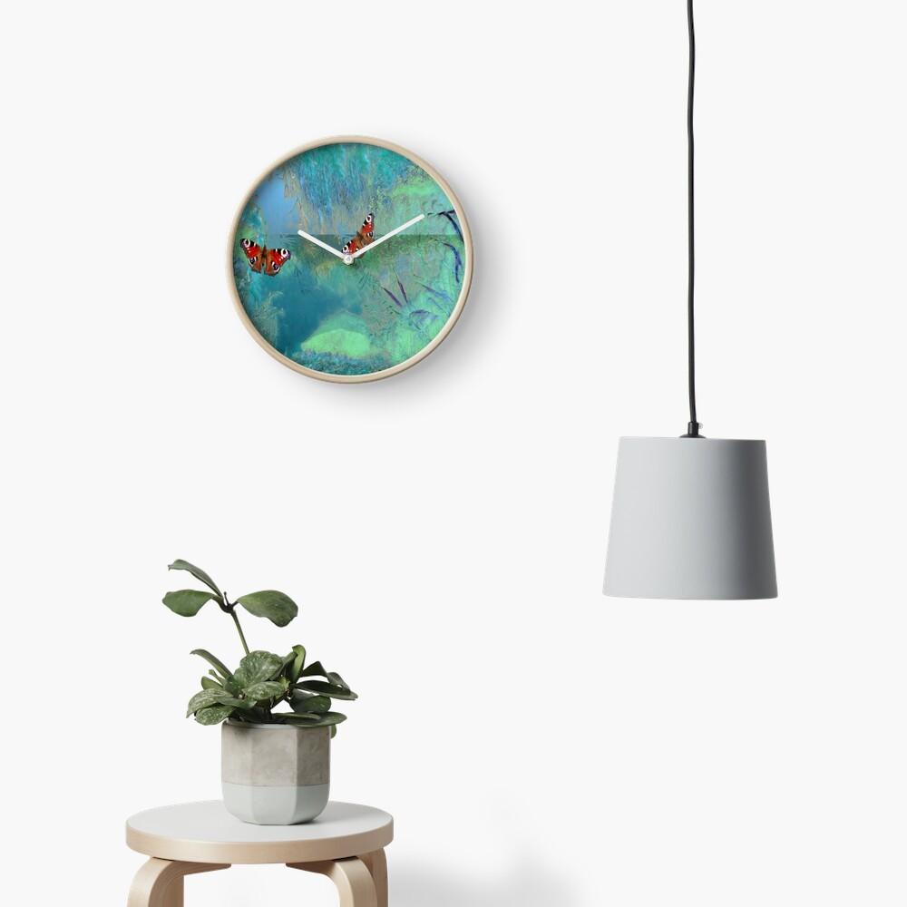 The Pond  Clock