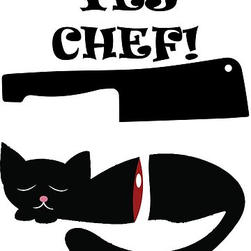 Yes, Chef! - Poor cat...  by handcraftline