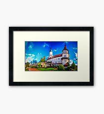 The castle of Nové Město nad Metují Framed Print