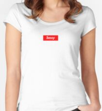 Sassy Women's Fitted Scoop T-Shirt
