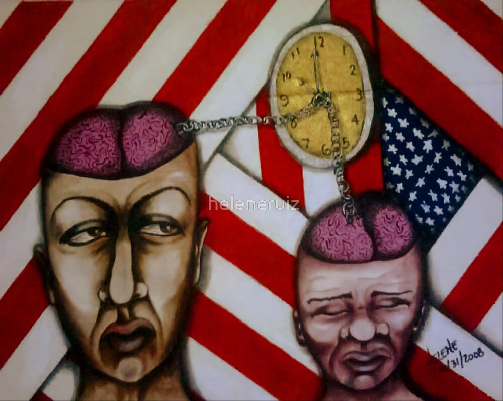 IT'S 10PM...DO WE KNOW IT'S TIME TO END PHSYCOLOGICAL SLAVERY?!!!!!!!!!!!! by helene ruiz