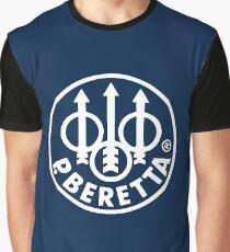 Beretta Gun Logo Graphic T-Shirt