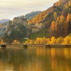 Rabenstein Castle in Fall by Delfino