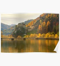 Rabenstein Castle in Fall Poster
