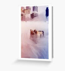 Cloud city Greeting Card