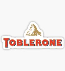 Toblerone Sticker