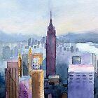 City of New York by Irina Reznikova