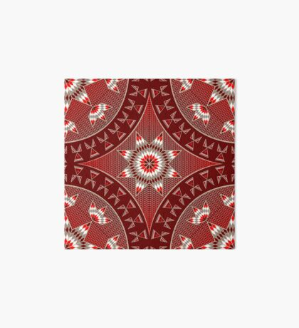 Morning Star with Tipi's (Red) Art Board