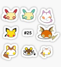 Electric Rodents – Shiny Sticker