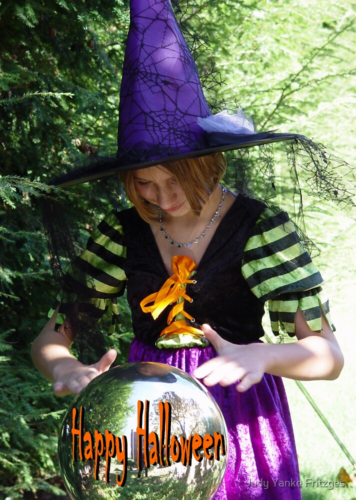 Halloween Witch by Judy Yanke Fritzges