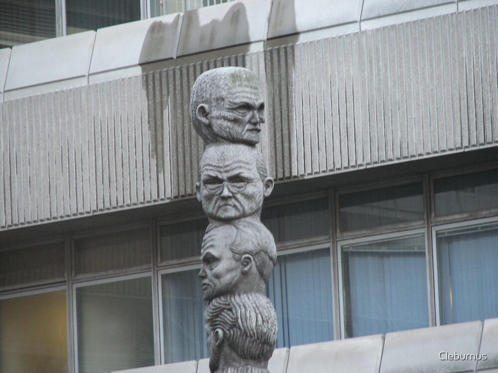 Strange Statue by Cleburnus