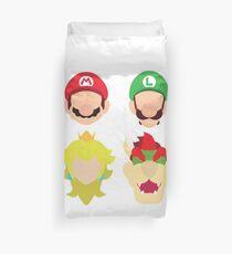 Super Mario Characters Duvet Cover