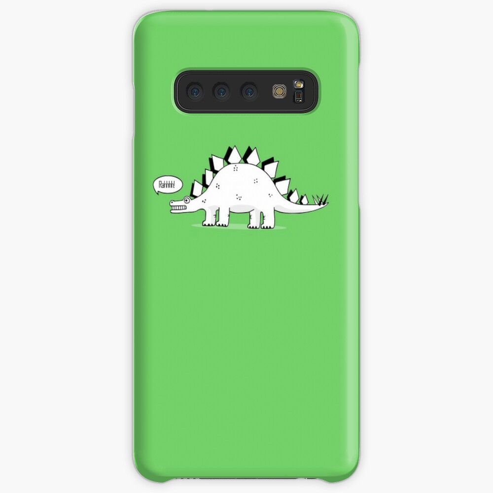 Cartoon Stegosaurus Case & Skin for Samsung Galaxy